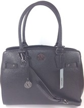 DKNY Donna Karan Black Goat Leather Tote Bag Medium Handbag RRP £350 - $314.11