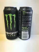 Monster Energy Drink 16oz Can Sku 0717N. 2 Full Cans Lot - $9.99