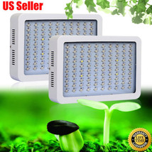 300W LED Grow Light Indoor Hydroponics System kits indoor Plant Flower G... - £75.41 GBP