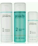 Proactive 60 Days 3-Step Acne Treatment System. 3-pc 4 oz 4oz 2 oz Bottl... - $78.90
