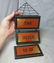 """""""The Witch is In"""". Halloween decoration sign - $11.69"""