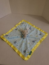 Goodnight Moon Bunny Rabbit Security Blanket Plush Soft Lovey Kids Prefe... - $11.54 CAD