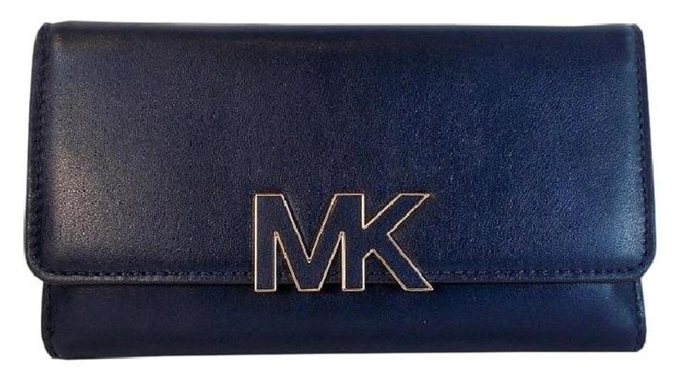 9a1a2207bb42 S l1600. S l1600. Previous. Michael Kors Florence Billfold Leather Wallet  NWT