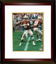 Chris Rix signed Florida State Seminoles 8x10 Photo Custom Framed - $74.00