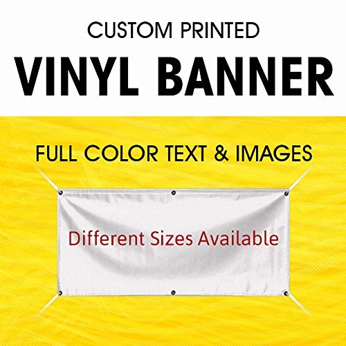 Custom Vinyl Full Color Banner Indoor Outdoor with True Solvent Ink Signs and Gr