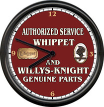 Whippet Willys Knight Willy's Auto Sales Service Parts Dealer Sign Wall ... - $21.12