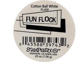 Stampendous-Fun Flock-Powder Cotton Ball-White- #FL400 image 2