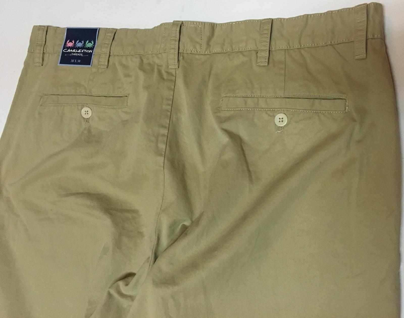 Charleston Threads Men's Khakis Pants 38 x 30 NWT