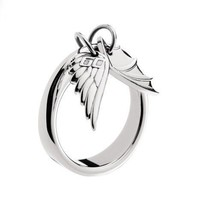 "Miss Sixty ""Wings"" Collection Charm Women's Ring size 4.5 - $24.74"