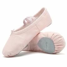 Ballet Shoes Ballet Slippers Girls Ballet Flats Canvas Dance Shoes Yoga ... - $10.30