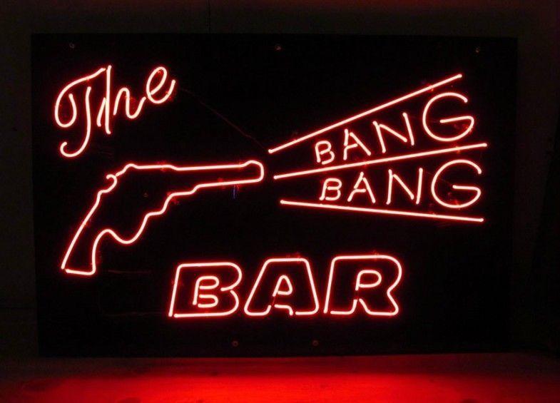 """New The Bang Bang Bar Beer Bar Neon Sign 24""""x20"""""""