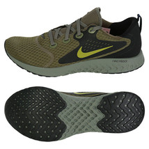 Nike Men's Legend React Running Shoes Athletic Training Khaki/Black AA16... - $93.99