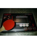 BRAND NEW ESPN HOME OFFICE TRAVEL TABLETOP PING PONG COMPLETE SET - $12.86