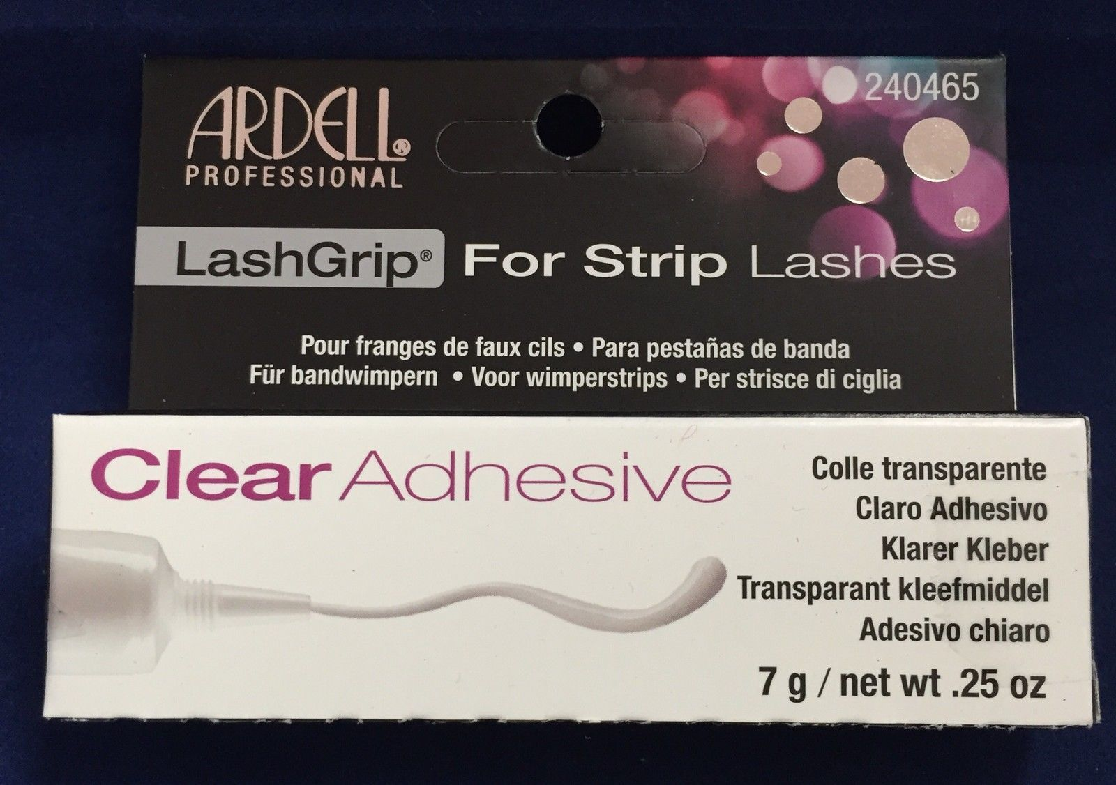 Primary image for ARDELL CLEAR LASH GRIP FPR STRIP LASHES net wt 0.25oz