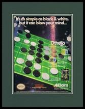 Othello 1989 NES Nintendo Framed 11x14 ORIGINAL Advertisement - $34.64