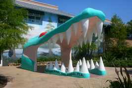 Gatorland's Alligator Jaws Entrance 13 x 19 Unmatted photograph - $35.00
