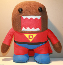 "9.5"" Super Domo Plush Character Red Suit and Cape - $21.41"