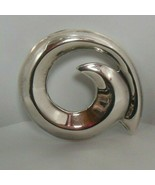 Stamped Mexico TS-01 925 Sterling Silver Brooch/Pendant - $54.45