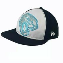 Jacksonville Jaguars New Era Black w/ Big Silver Cat SnapBack Hat NFL Vi... - $24.90