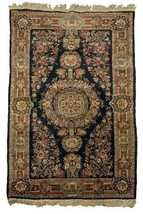"Persian Qazvin Hand Made Wool rug 4' 4"" x 7' early 1940s - $2,969.01"