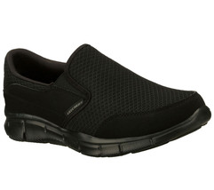 51361 Nero Skechers Scarpe Uomo Nuovo Memory Foam Comfort Non Stringate ... - $49.79