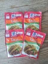 McCormick Gluten Free Taco Seasoning (Pack of 4) 1.25 oz Packets HTF  - $15.35
