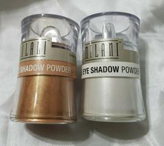 Milani loose Eye Shadow Powder Lot Of 2 #04 Powder Puff #03 Fire Fly - $14.84