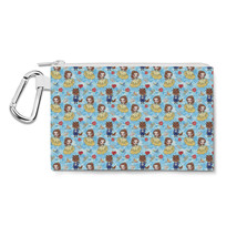 Belle And Her Beast Disney Inspired Canvas Zip Pouch - $14.99+