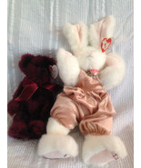 """2 Beanie Baby Attic Treasures Collection Vintage """"Sara"""" and """"Beargundy"""" ... - $18.69"""