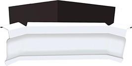 Extreme Miter 5-Inch Aluminum Inside Gutter Corner - White - $18.73