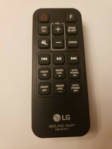 Original New LG SoundBar Remote Control, model AKB74815371 - $15.88
