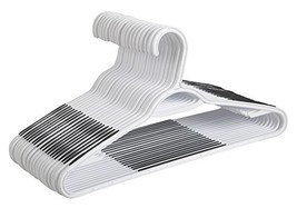 Finnhomy Super Value 50 Pack Plastic Hangers, Durable Clothes Hangers wi... - $48.41