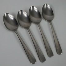 Oneida Lot of 4 Stainless Dinner Spoons OCEANIC Silverware  - $19.99