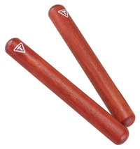 Tycoon Percussion 8 Inch Hardwood Claves/New - $15.00