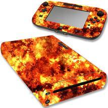 VWAQ Wii U Flame Decal Sticker Nintendo Wii U Console Fire Skin Cover - ... - $14.99