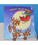 SANTA'S WORKSHOP CHRISTMAS BOARD BOOK PARADISE PRESS Nancy Parent A Deva... - $12.38