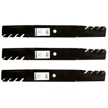 "3 Pack Toothed Blades fit Spartan 438-0002-00 RT SRT 61"" Mower Deck - $54.85"