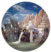 Danbury Mint Wedgwood Lord of The Rings Plate from Second Series - The Crowning  - $50.95