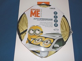 Illumination Entertainment Despicable ME Auto Springshade Blocks Damagin... - $5.01