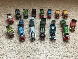 Thomas Take Along 15 Trains Lot Ferdinand Victor Bill Ben Emily Henry Go... - $59.39