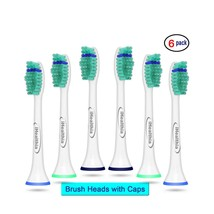 6 Sonic Replacement Toothbrush Heads for Philips Sonicare Proresults HX6014 - $8.59