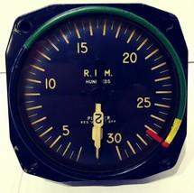 Bendix Aviation Pioneer Instrument 1048 RPM Hundreds Gauge - $100.00