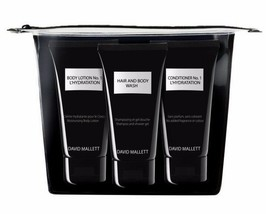David Mallett - L'Hydration Travel Kit Trio (with Lotion & Conditioner N... - $24.90