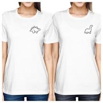 Dinosaurs BFF Matching White Shirts - $30.99+
