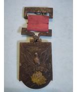 1940 Manchuria National Census Memento Medal with Ribbon and Pin - $292.05