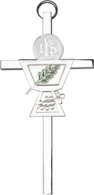 Communion Chalice Wall Cross - Silver