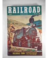 Vintage Railroad Magazine August 1953 Train on Cover - $12.82