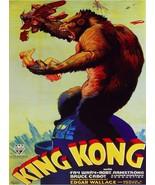 Decoration Poster.Home interior dorm decor.Wall design.King Kong movie.1... - $10.89+