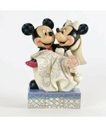 "6.5"" ""Congratulations"" Mickey & Minnie Wedding - Jim Shore Disney Tradit... - $49.49"