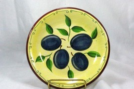 Sonoma Lifestyles Plums Salad Plate - $4.15